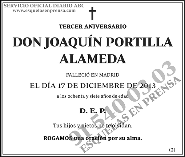 Joaquín Portilla Alameda